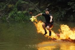 Patrick (DC2013), Dschungelprüfung, Feuer