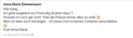 Promi Big Brother - Kandidaten