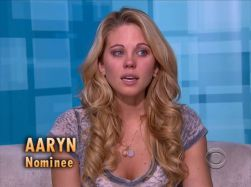 Big Brother USA 15 Aaryn Nominee