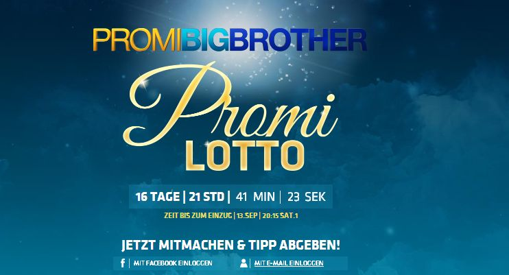 Promi Big Brother - Promilotto
