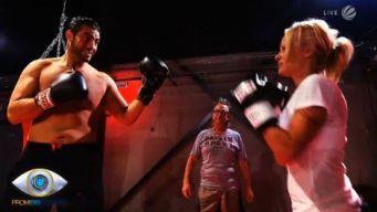 Promi Big Brother 2013 - Pamela Anderson Manuel Charr boxen
