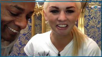 Promi Big Brother 2013 Sharespot Natalia Osada und Percival Duke müssen zum Match antreten