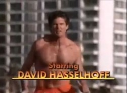 David Hasselhoff - Baywatch-Star