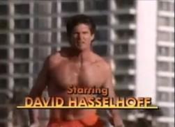 David Hasselhoff - Baywatch-Star