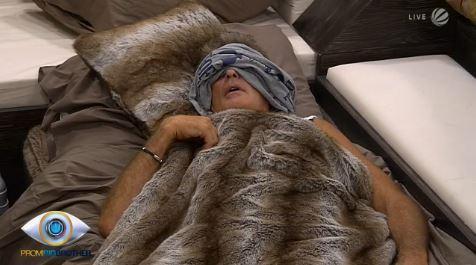 Guten Morgen bei Promi Big Brother: David Hasslhoff schläft noch