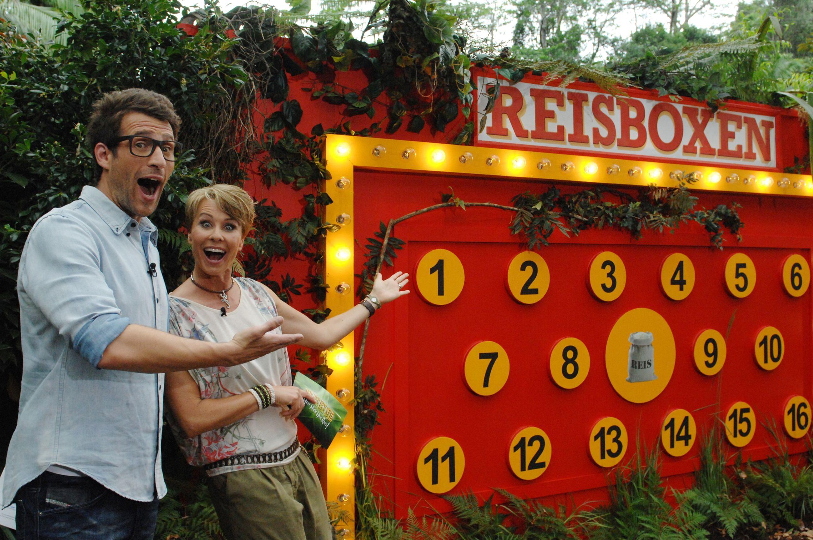 Dschungelcamp 2014 Dschungelprüfung Tag 9 Reisboxen