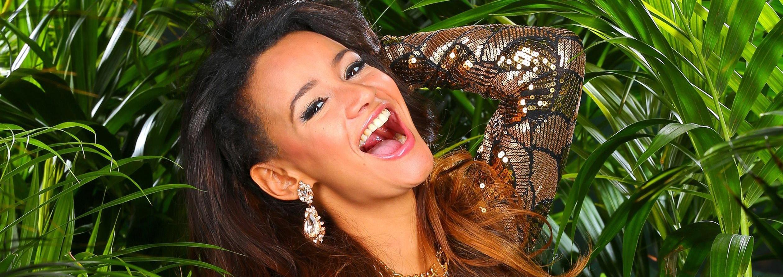 Gabby de Almeida Rinne Dschungelcamp 2014 Kandidat