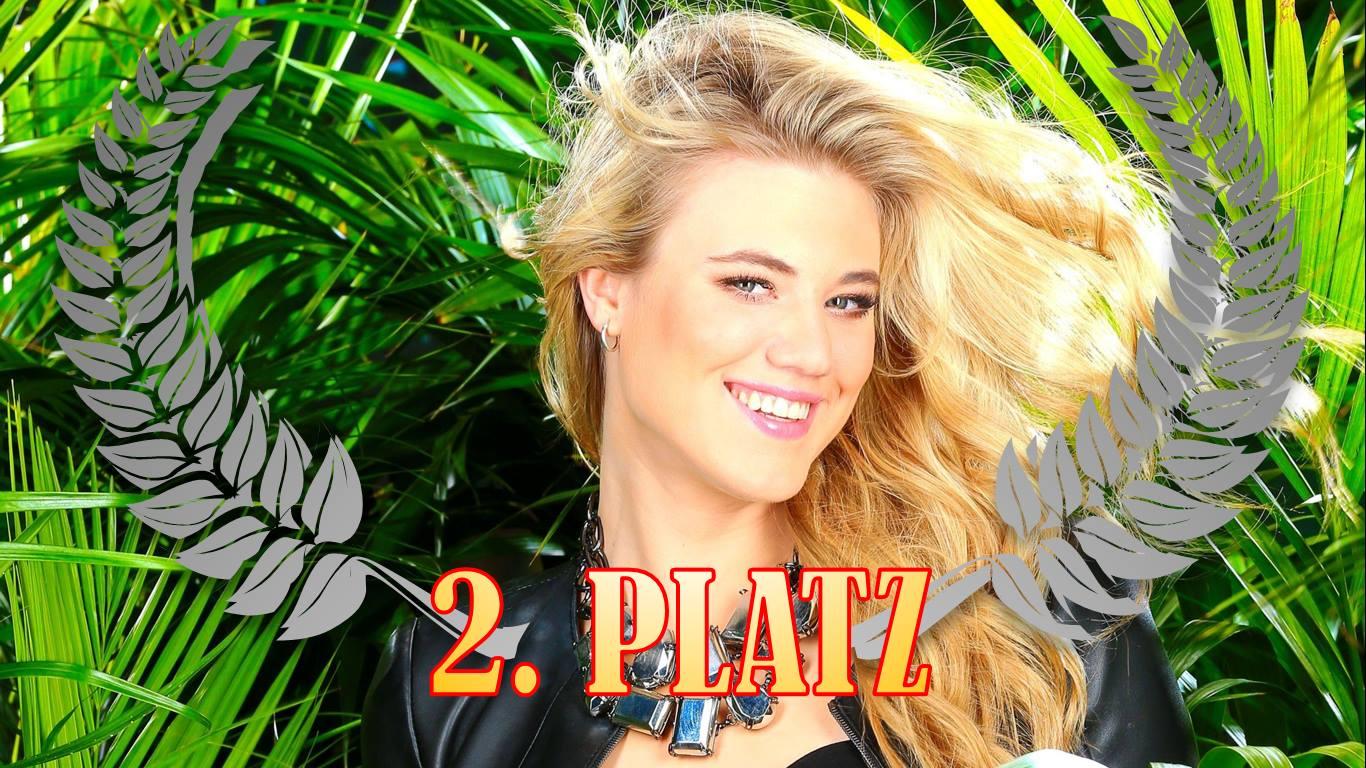 Dschungelcamp - Larissa Marolt - 2. Platz