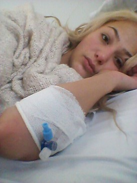 DSDS: Anita Latifi wurde aus dem Krankenhaus entlassen