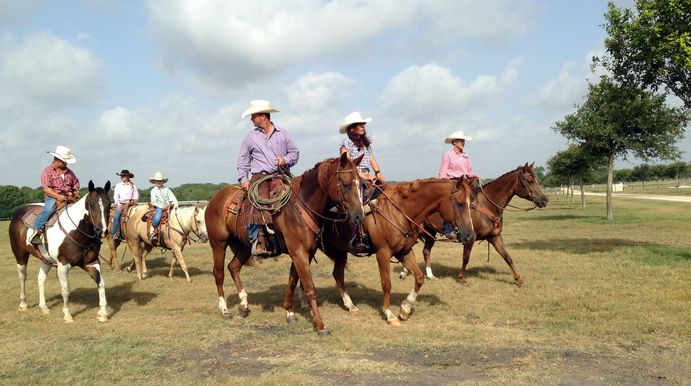 Go West - Familie Liebisch in Texas beim Rodeo-Festival