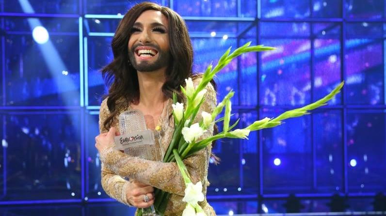 ESC2014 Conchita Wurst Austria Eurovision Song Contest 2014