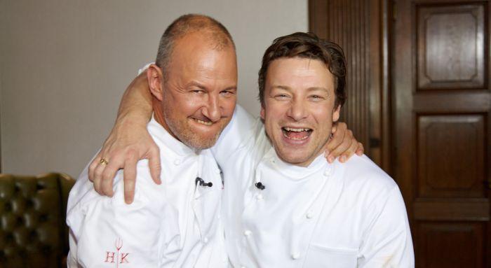 Hells Kitchen - Frank Rosin und Jamie Oliver