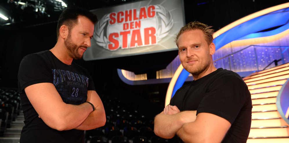 Schlag den Star: Michael Wendler gegen Axel Stein