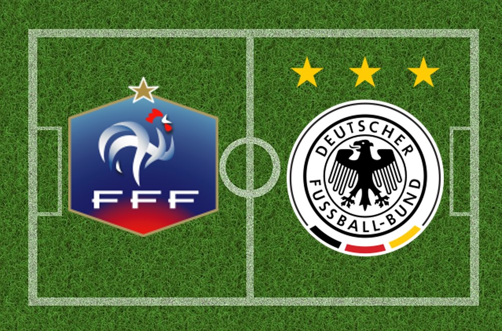 deutschland vs frankreich live