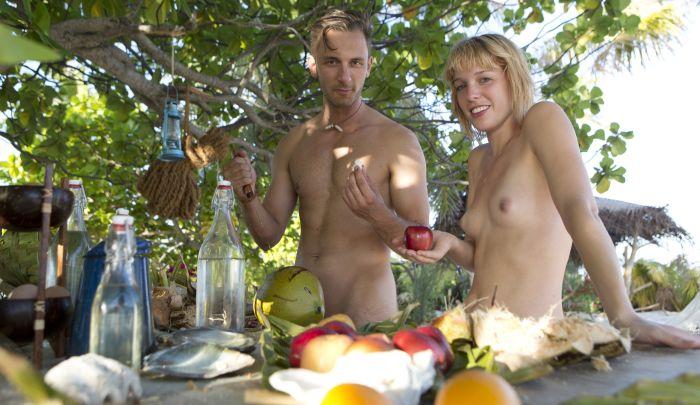 Adam sucht Eva - Thomas und Ricarda - Essen unter Palmen
