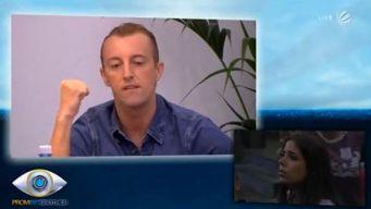 Promi Big Brother 2014 Bestrafung Regelverstoß Mario Max zu Schaumburg Lippe Ela Tas