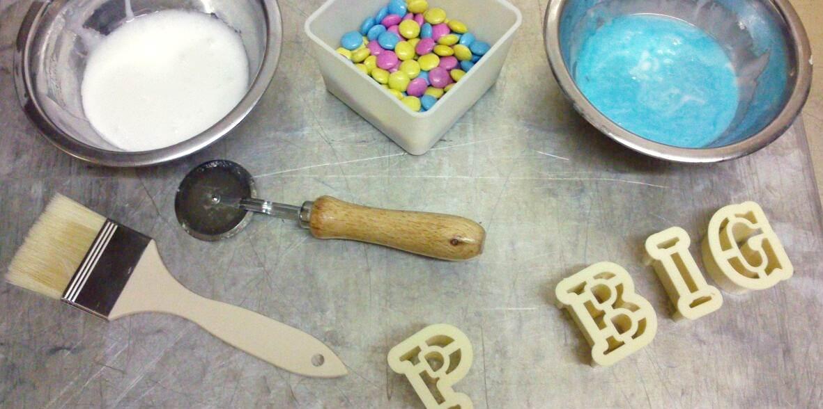 Promi Big Brother 3D Kuchen Glasur