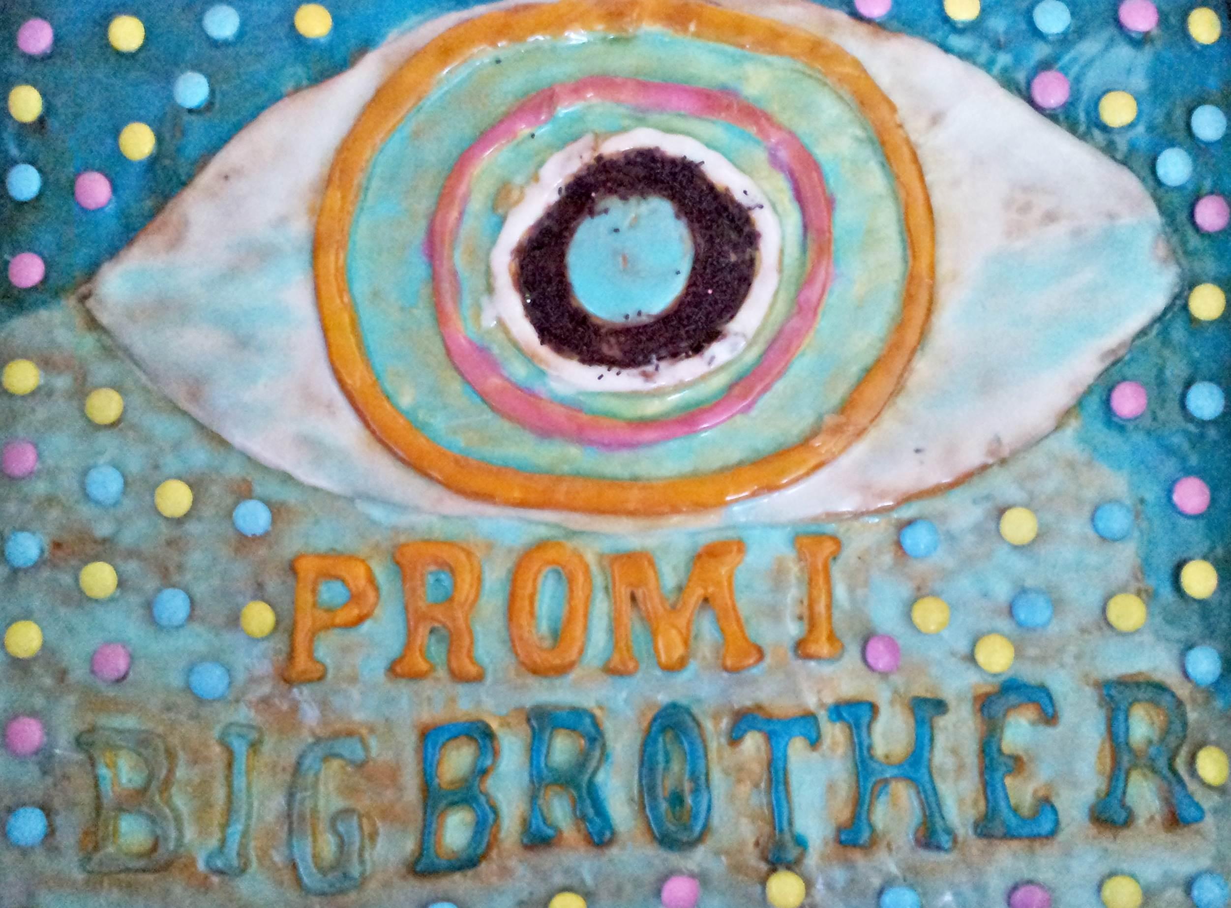 Promi Big Brother 3D Kuchen fertig