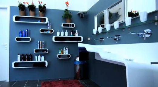 Promi Big Brother - Das Badezimmer - Pflegebereich