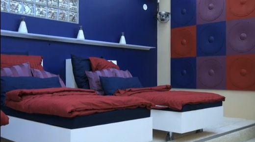 Promi Big Brother -  Das Schlafzimmer - Betten
