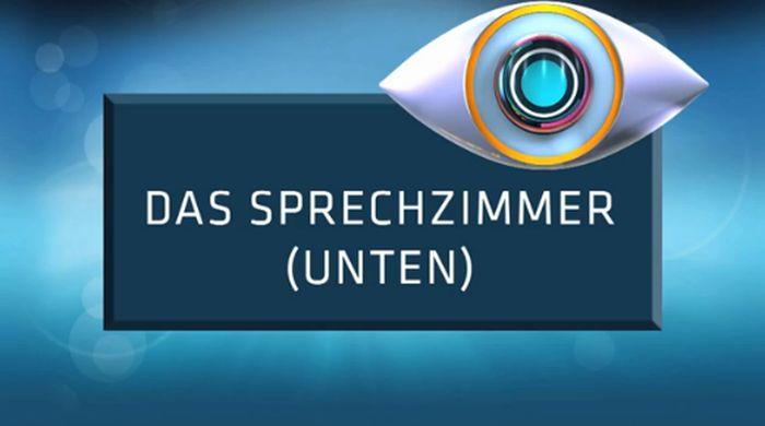 Promi Big Brother -  Das Sprechzimmer UNTEN