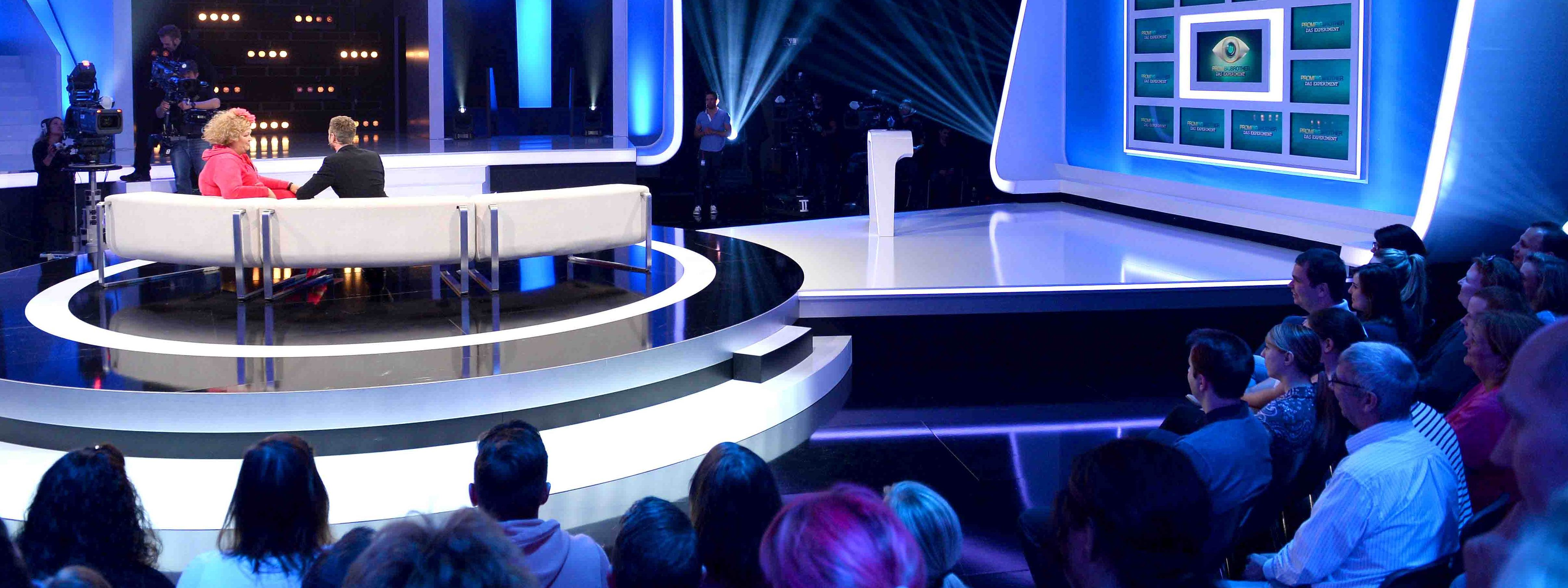 Promi Big Brother Liveshow Besuch