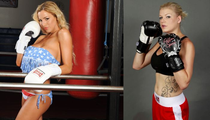 Promi-Boxen: Jordan Carver vs. Melanie Müller