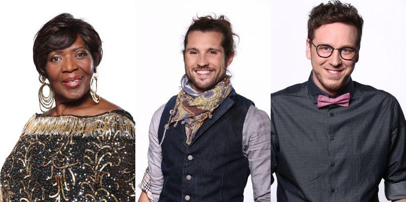 Rising Star: von links: Joanne Bell, Julien Müller, Moritz Steckenstein