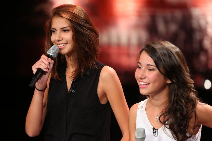 Das Supertalent 2014 - Elizabeth Bürgin (l.) und Adriana Silva