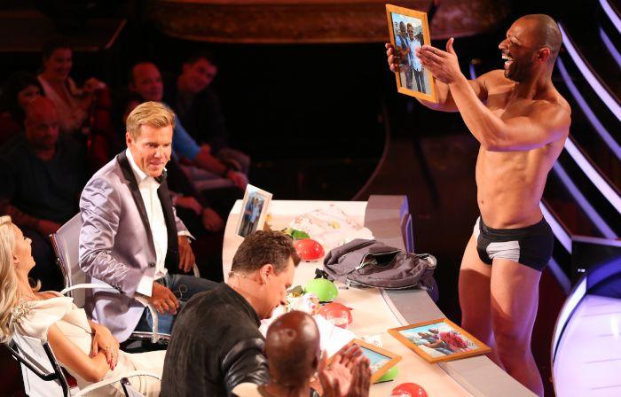 Das Supertalent - Jesse Fischer mit der Jury