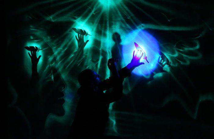 Das Supertalent - Lichtmaler Oleg Basanov.