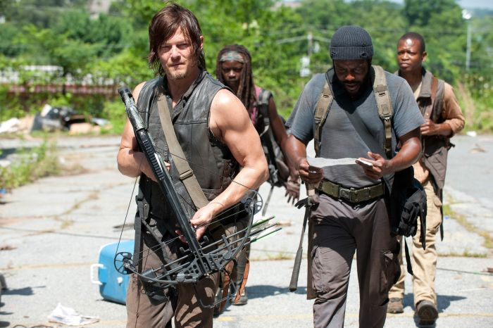 The Walking Dead - Staffel vier - Tyreese-Michonne-Bob