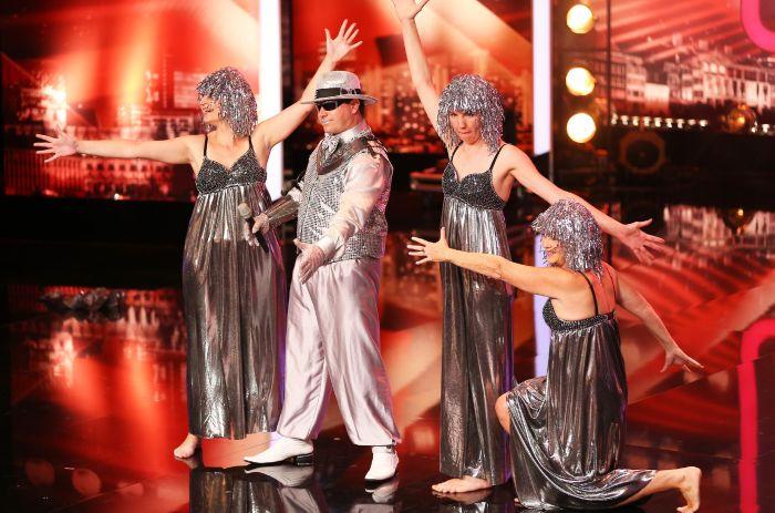 Das Supertalent - Siebte Show - Frank Christoph Schnitzler, Sänger aus Reutlingen.