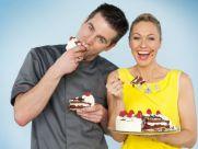 Tortenschlacht - Ruth Moschner  und Matthias Lange