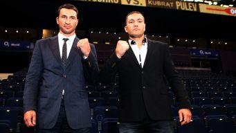 Wladimir Klitschko gegen Kubrat Pulev