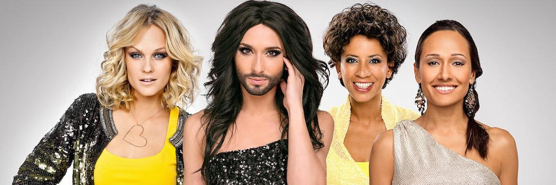 Eurovision Song Contest 2015 Conchita Wurst Arabella Kiesbauer Alice Tumler