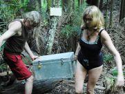 Dschungelpruefung In Stein gemeisselt Walter Freiwald Maren Gilzer wiedervereint Tag 10 IBES 2015 Dschungelcamp 2015