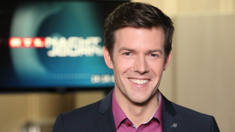 RTL Nachtjournal Moderator Maik Meuser