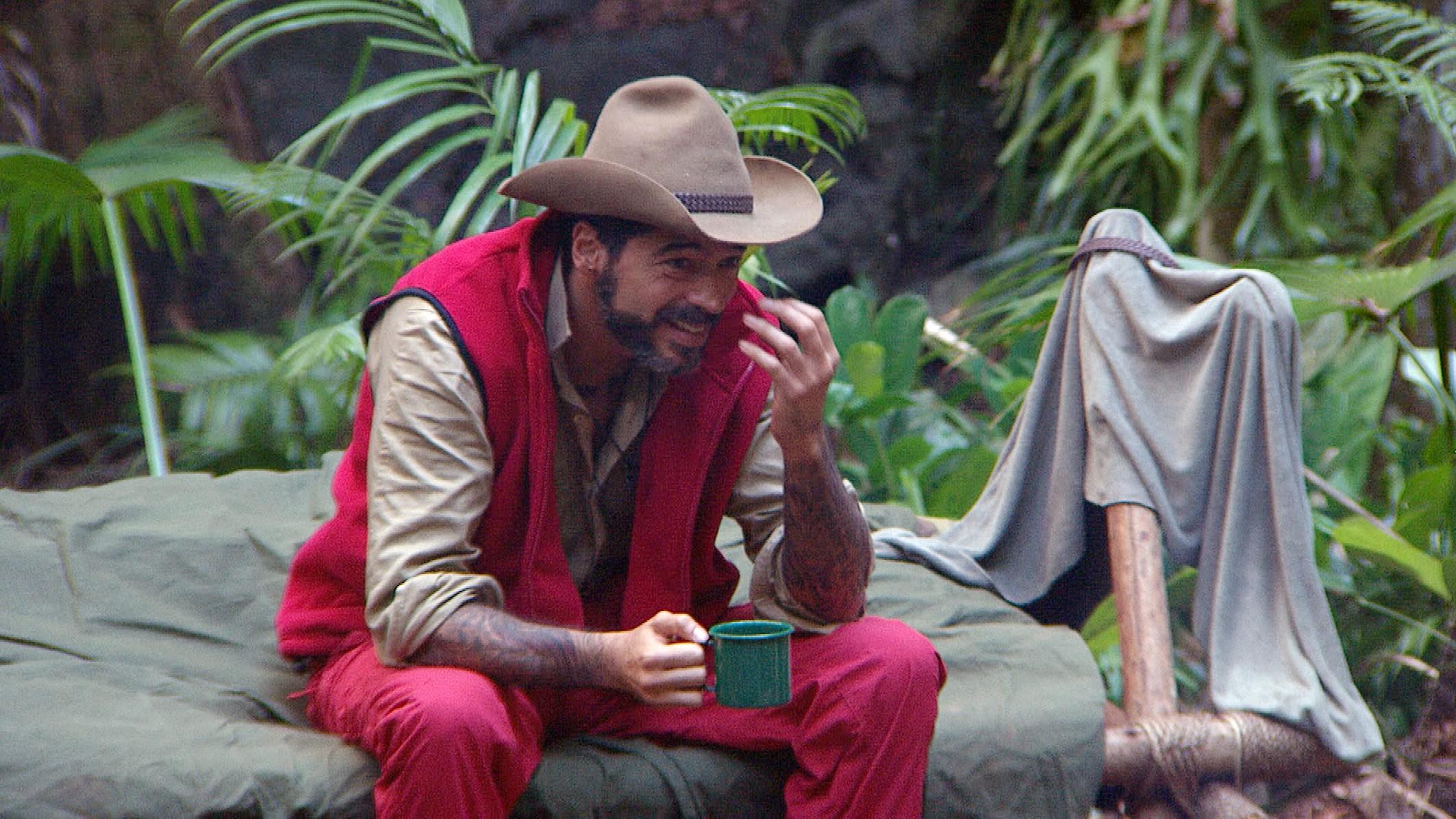 Walter Freiwald Auszug Dschungelcamp 2015 noch immer Thema Tag 15 Aurelio Savina