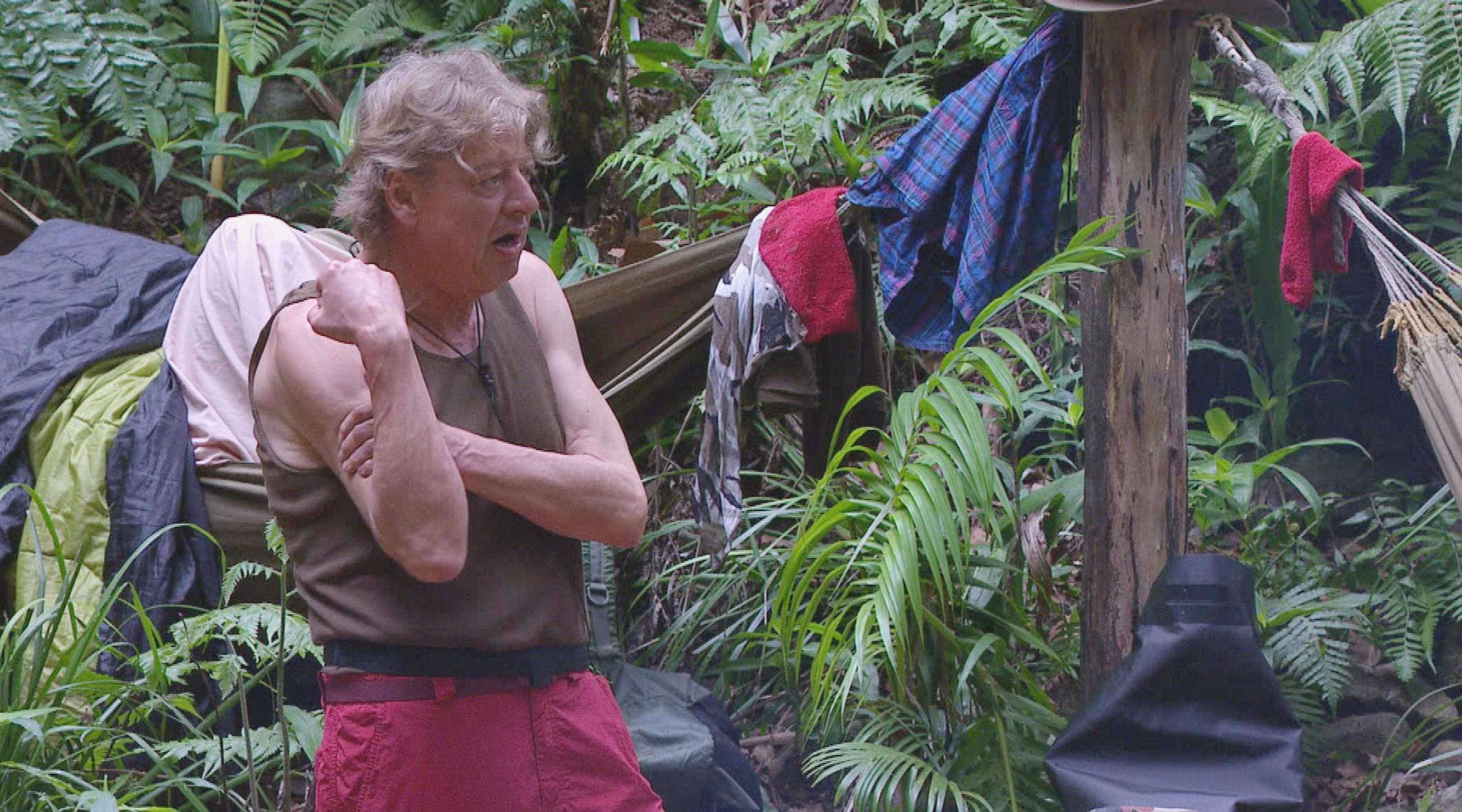 Walter Freiwald Bewohner Tag 4 Dschungelcamp 2015 RTL IBES Ich bin ein Star Holt mich hier raus Folge 4 19.01.2015