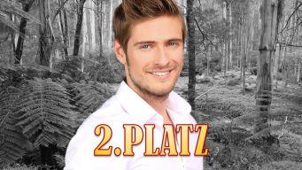Dschungelcamp Finale 2. Platz Joern Schloenvoigt Platz 2