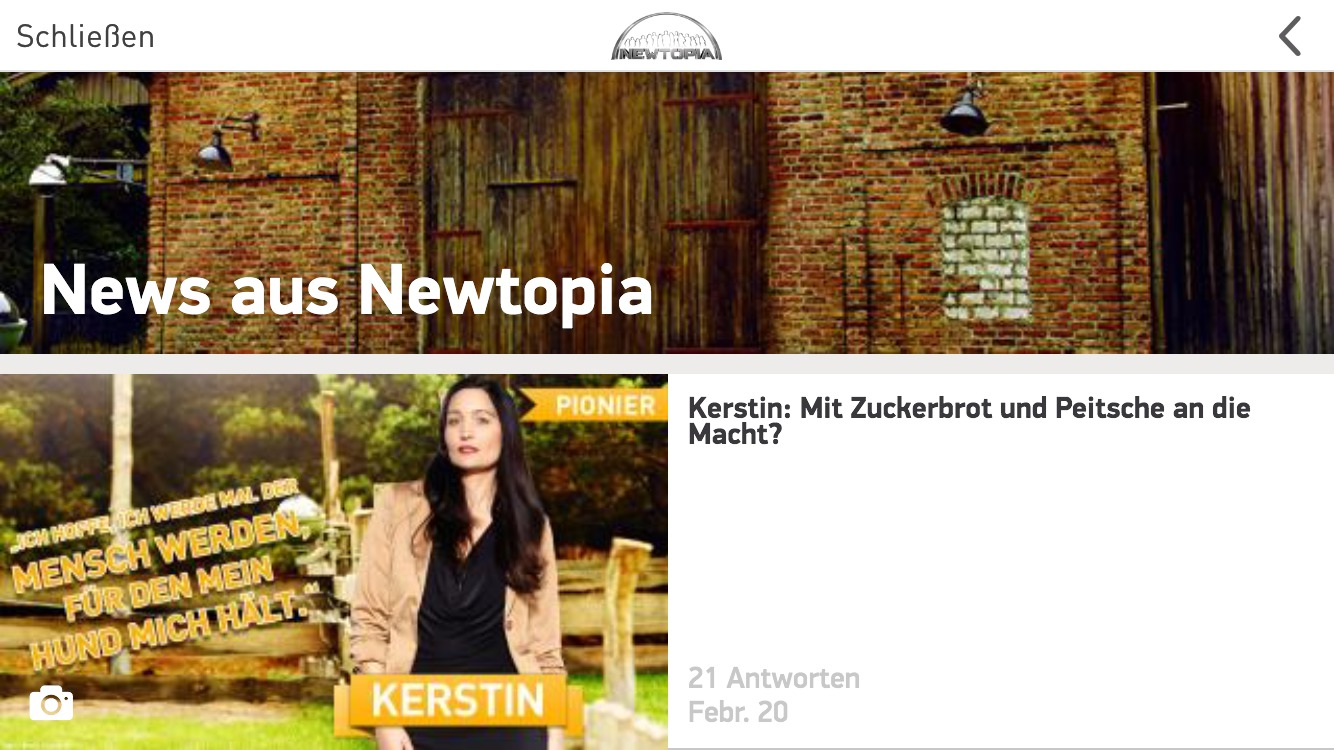 Newtopia App News iPhone iPad iPod touch iOS Android Windows Phone