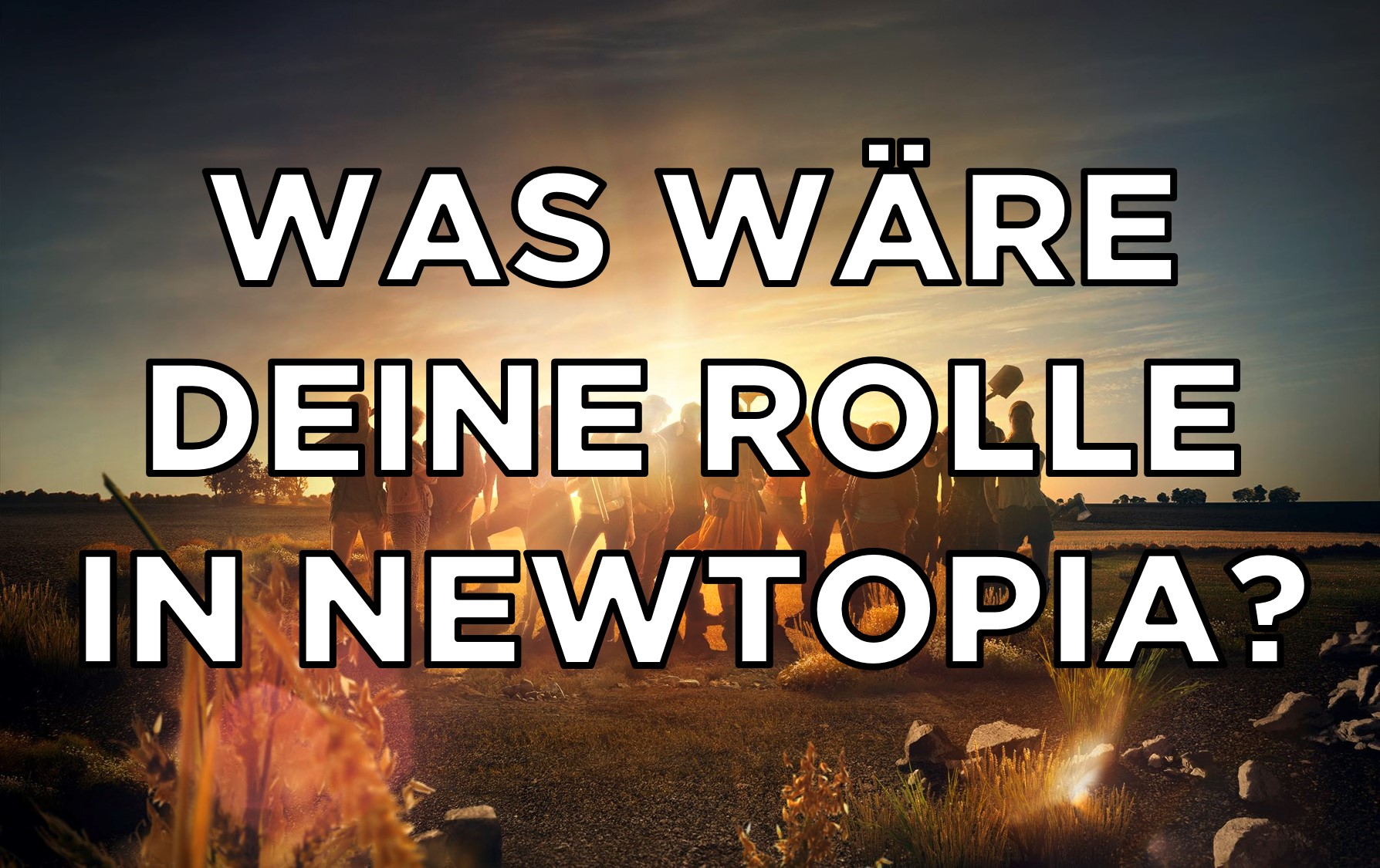 Newtopia Quiz - deine Rolle