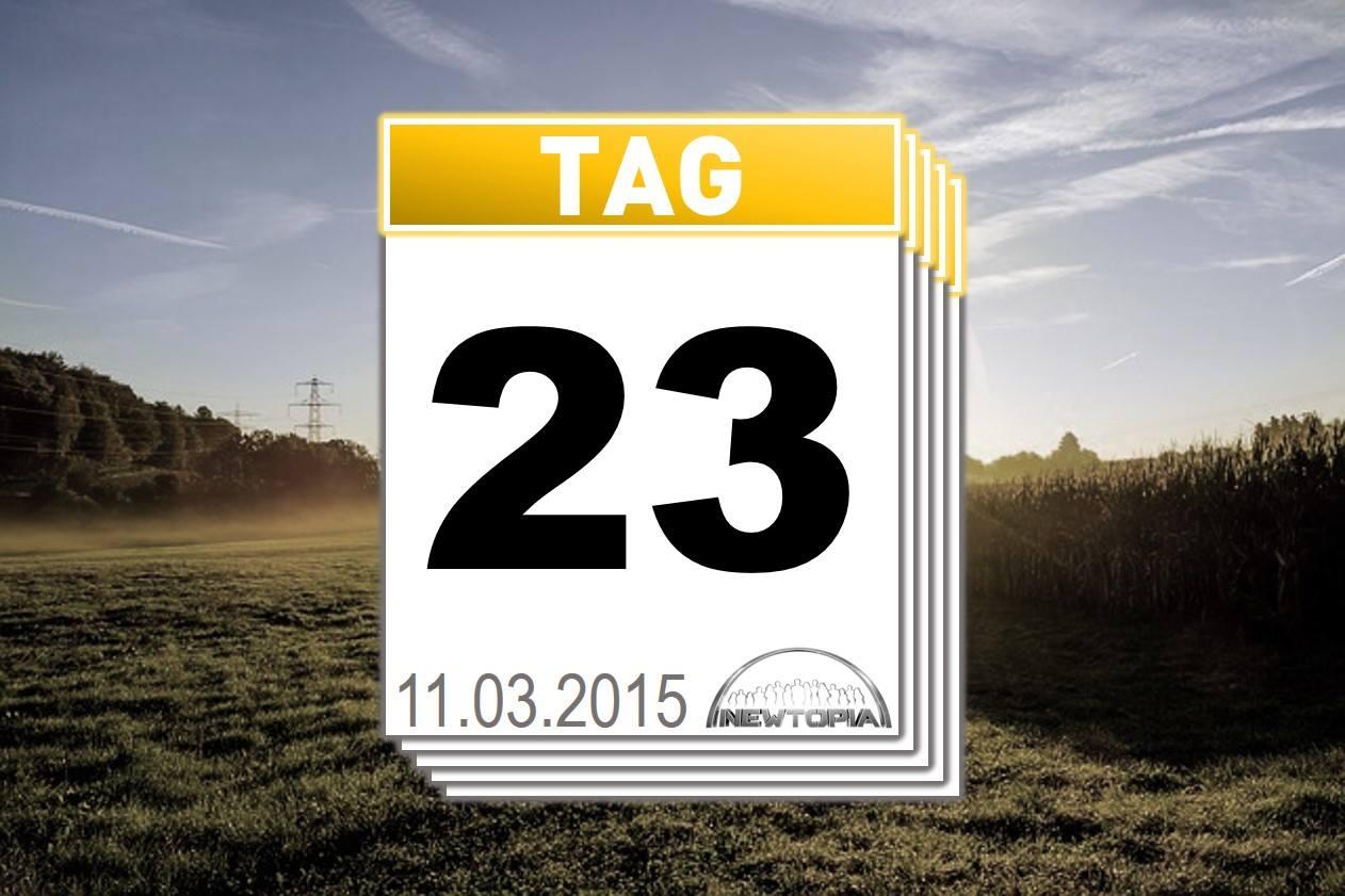 Zusammenfassung - Rückblick auf Tag 23
