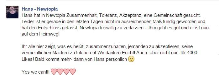 Facebook Hans