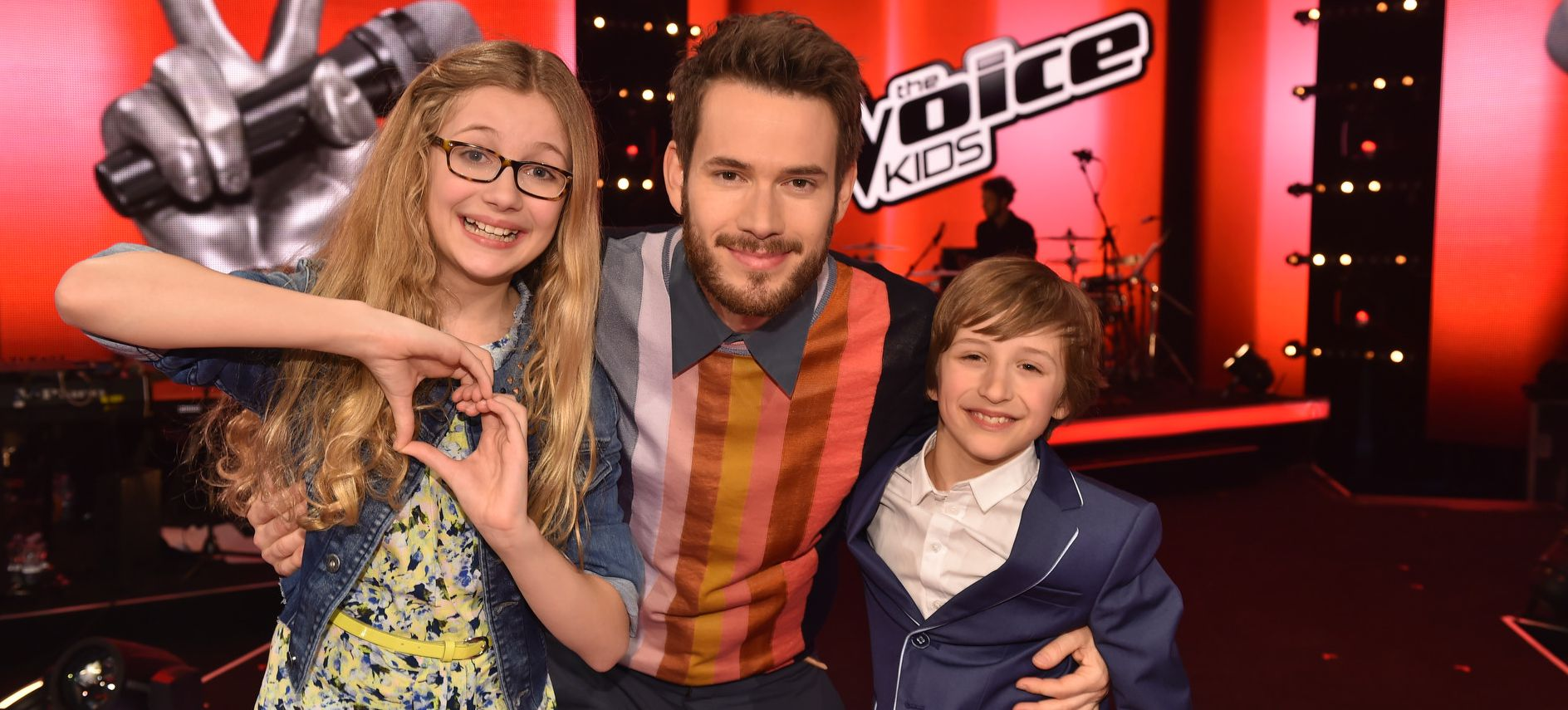 The voice kids 2015 finale cosma nestor johannes strate