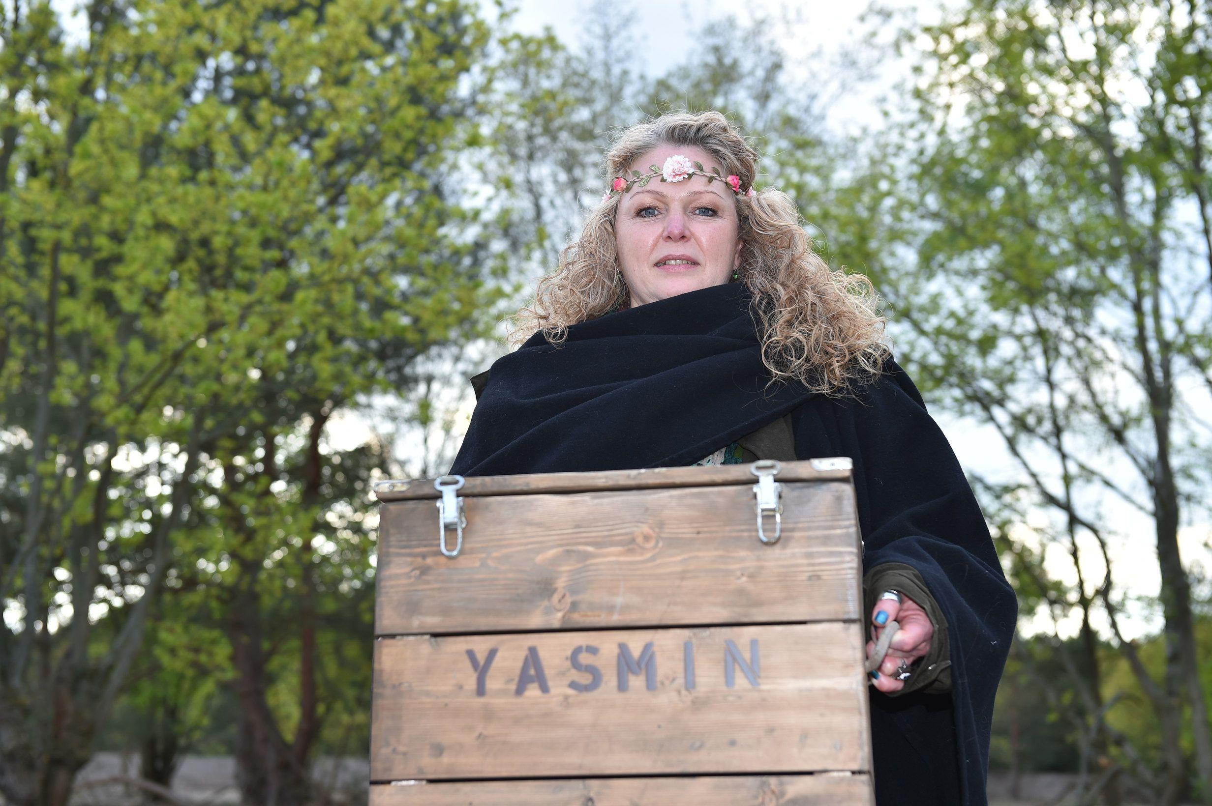 Newtopia Pionierin Yasmin.