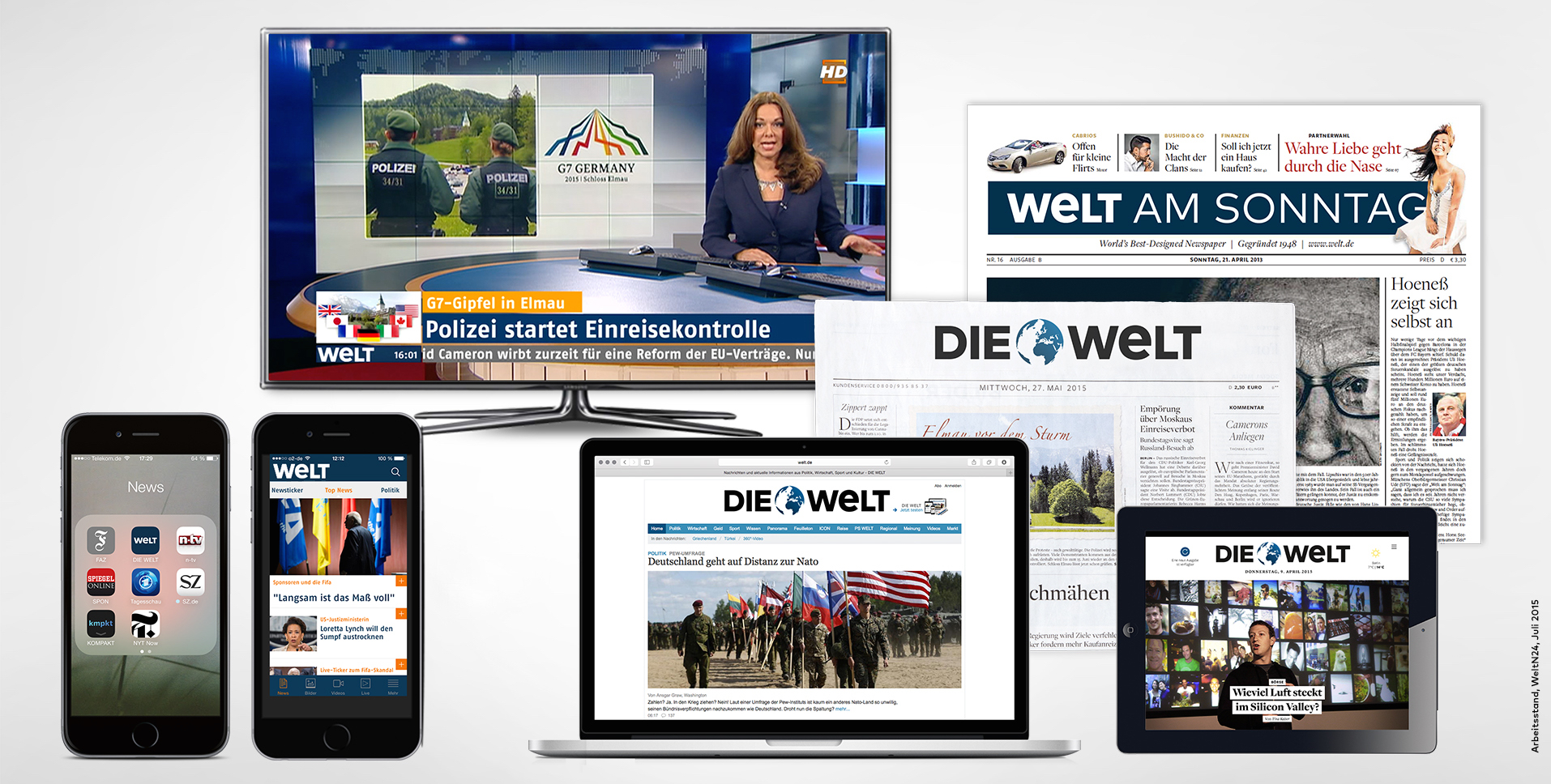N24 WELT Name Axel Springer Markendach