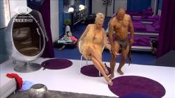David Odonkor Stripper Körperkontakt