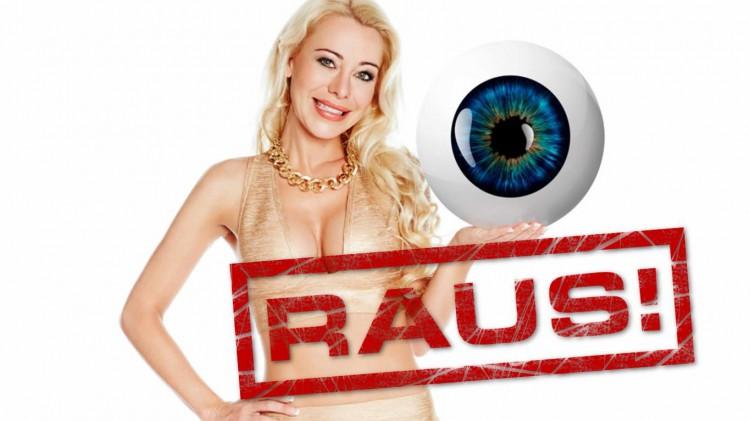 Nina Kristin raus Auszug Promi Big Brother 2015